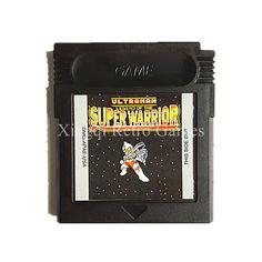 mNintendo Game Boy Color GBC Game Ultraman Legend of the Super Warrior Video G #NINTENDO