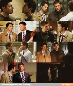 Heterosexual Standing: A Book of What Not to Do by Dean Winchester and Castiel