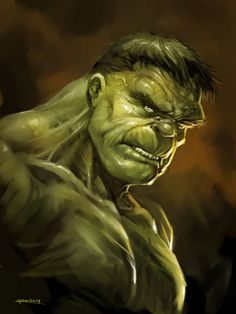 Hulk Smash by PReilly in Marvel Comics Superheroes: Showcase of Colorful Fan Artworks. Part 1