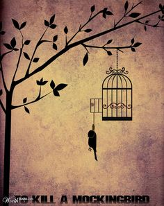 Mockingbirds don't do one thing but make music for us to enjoy. They don't eat up people's gardens, don't nest in corncribs, they don't do one thing but sing their hearts out for us. That's why it's a sin to kill a mockingbird.