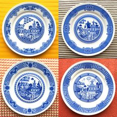 Four Plate Combo: Calamityware 1, 2, 3, and 4