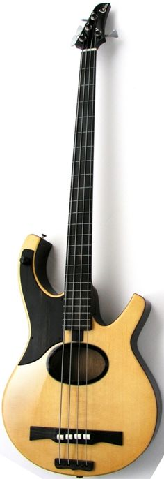 Citron AE4 Swallow acoustic electric Bass --- Quite cute in an ugly sort of way....K