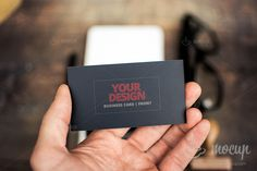 PSD Mockup Business Card 4 $