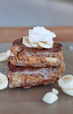 Peanut Butter & Banana Stuffed French Toast 2a