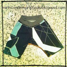 mi rincón de mariposas: Pantalón corto de loneta (con patrón)