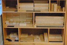 labeling the block shelves