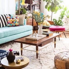 Bri Emery's New Living Room, designed by Emily Henderson, shot by Laure Joliet | Emily Henderson