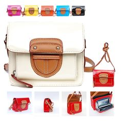 Dionisia Crossbody Bag.  Our Dionisia Crossbody Bag is a cute little purse available in the prettiest jewel tone hues around! The Dionisia has a super sleek patent leatherette exterior that isn't short on shine. This structured bag can go with you anywhere, and transitions easily with your day to nighttime looks.   The envelope style front flap has a hidden magnetic closure and leatherette trim.   $22.95 + Free Shipping