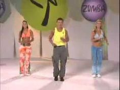 Zumba fun for beginners!  I have all the DVD's and I was sweating my butt off in the first five minutes of instruction!  LOL!