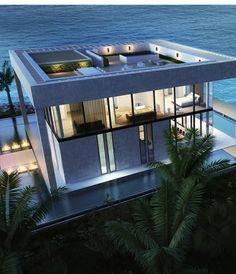 Seafront cubique Villa