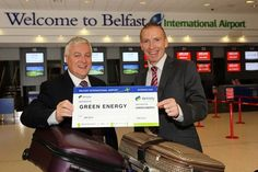 12 June 2012 - Belfast International Airport goes green with Airtricity, Northern Ireland's leading renewable energy provider. http://www.belfastairport.com/en/news/1/156/belfast-international-airport-goes-green-with-airtricity.html #airtricity #electricity #renewables  #news #belfast #airport #belfastinternational #belfastinternationalairport #bia #flying #plane #holiday #trip #vacation