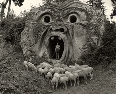 This person for not only having a herd of naked sheep, but for finding Zeus's head in the wilderness of...somewhere...
