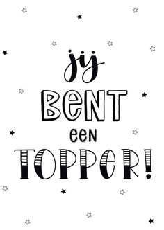 Hand Lettering Alphabet, Hand Lettering Quotes, Brush Lettering, Words Quotes, Me Quotes, Sayings, Dutch Quotes, Zentangle, Card Sentiments
