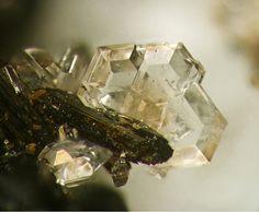 Catapleiite, Na2ZrSi3O9·2H2O, Poudrette quarry, Mont Saint-Hilaire, La Vallée-du-Richelieu RCM, Montérégie, Québec, Canada. Fov 2.9 x 2.4 mm.  Uploaded by: Modris Baum