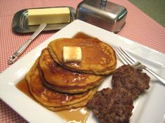 Fluffy Pumpkin Pancakes - Buttoni's Low Carb Recipes