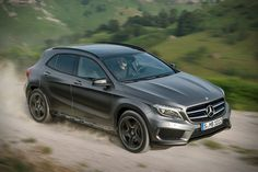 2015 Mercedes-Benz GLA Class  looks suspiciously like an Audi Q5, but not bad looking nonetheless