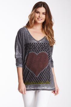 In LOVE Graphic Tee - this would be cute for Valentine's Day.