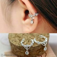 Ear cuff. Okay I love, love, love this design!!!
