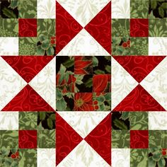 Sew Block Quilt Star Crossed Christmas Quilt Block - I am either late, or very early. You choose. Regardless, this week, I played with the Star Crossed Christmas quilt block from Nancy Martin's Perpetual Calendar. The block is drawn from a 9 x… Christmas Patchwork, Christmas Blocks, Christmas Quilt Patterns, Star Quilt Patterns, Christmas Sewing, Pattern Blocks, Christmas Tables, Purple Christmas, Coastal Christmas