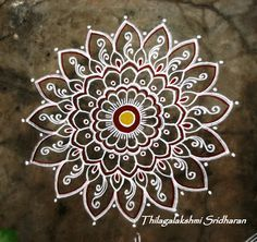 Rangoli and Art Works: Margazhi 2015 - Day 4 kolam