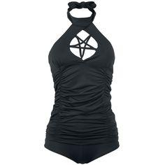 Gothicana by EMP  Zwempak  »Pentagram Tankini« | Nu te koop bij Large | Meer Gothic  Zwempakken online beschikbaar - De beste prijs!
