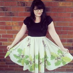 Holly Short Circle Skirt by lightninglisa