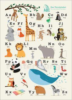 Sandy Lohß - animal alphabet (german)