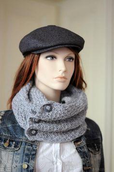 Charcoal flat hat Newspaper boy cap Womens newsboy cap Page boy cap Mens  newsboy hat grey Ring beare d0cdb65f9
