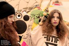 Preview / Zapowiedź  Models: Daria Rębiś i Marlena Suchenia Photo: Kamila Błaszkiewicz Make up: Mariola Bednarska Hair: Marta Frankowicz / Madamefranco Style: Magdalena Pyrżak