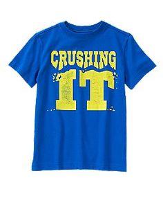 Crushing It Tee 559