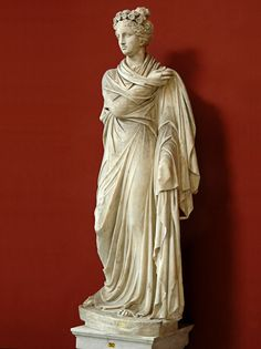 Madame de Pompadour (2nd century Roman sculptures of Apollo Citharoedus...)