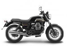 The Moto Guzzi V7 Classic. A bike to aspire to. I had a Speed 4 a few years back. I miss riding...