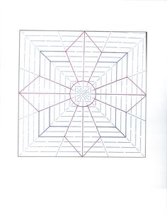 A nice block pattern using the square Ultimate Stencil.this leaves lots of room for fillers. Quilting Stencils, Quilting Templates, Quilting Rulers, Longarm Quilting, Free Motion Quilting, Quilting Tutorials, Machine Quilting, Quilting Designs, Quilting Ideas