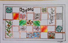 Lieschens-Bilder: Zentangle 243 Challenge #215 b