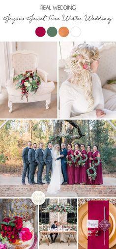 Joyous Jewel Tone Winter Wedding by Dust and Dreams Photography Wedding Theme Design, Wedding Themes, Wedding Styles, Winter Wedding Snow, Winter Wedding Colors, Dream Photography, Wedding Photography, South African Weddings, Wedding Pics