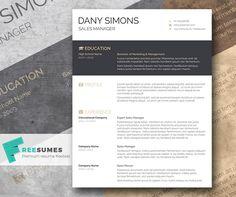 visually appealing resume