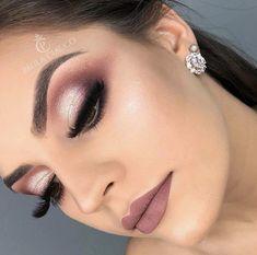 ABC Make Up Foundation Eyebrow Eyeliner Blush Cosmetic Concealer Brushes (Rose Gold) - Cute Makeup Guide Wedding Makeup Tips, Eye Makeup Tips, Smokey Eye Makeup, Makeup Geek, Makeup Inspo, Bridal Makeup, Makeup Eyeshadow, Eyeliner, Makeup Ideas