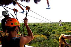 Xplor Park. Playa del Carmen. Riviera Maya. Mexico - the BEST zip lines!
