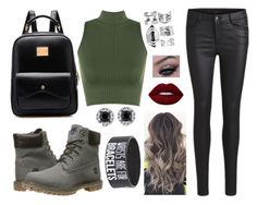 """"" by rafia-19 ❤ liked on Polyvore featuring WearAll, Boohoo, Lime Crime, Timberland and VILA"
