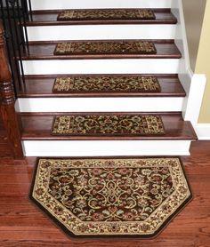 Dean Tape Free Pet Friendly Non Skid Stair Gripper Premium Carpet Stair  Treads   Classic