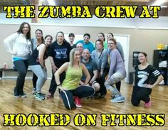 Zumba at Hooked on Fitness on 01/06/2016! Can't you feel the fun?  #GroupFitness #PhillyPersonalTrainer www.hookedonfitness.net