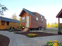 Auburn Home Show 2015 #tiny #tinycabin #tinyhouse #tinyhouseliving #tinyhousecompany #beautiful  #pine #home #homesonwheels #homeonwheels  #libertycabins #tinyhousemovement #tinyhouses #California #california_igers #caligrammers #calilove #homestyle #homedesign #homedecor #travel #cabineer #cabinlove #view #homeshow #homesweethome #norcal by liberty_cabins