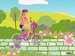 Barbie ile Gezinti oyununu oyna.Hey kızlar bugün barbie kendi ormanında güzel bir bisiklet yolculuğuna çıktı.Seninde onunla gelmeni istiyor.Onunla gidip barbie yardımcı olur musun?Bu gizemli ormanda çok güzel parlak taşlar var.Onları barbie için toplar mısın?Bu onu çok mutlu edecek.İyi eğlenceler kızlar. http://www.oyunli.com/barbie-ile-gezinti.html
