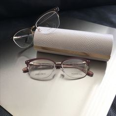 a4c436589c3 Jimmy Choo Round Bling Glitter Sunglasses Used. Some of the inside  information rubbed from wear. No trades. Jimmy Choo Accessories Glasses