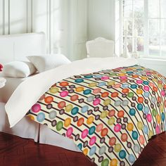 DENY Designs Home Accessories | Sharon Turner Mocha Chocca Candy Bubbles Duvet Cover