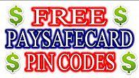 Paysafecard Pin Codes 2017 Free Codes