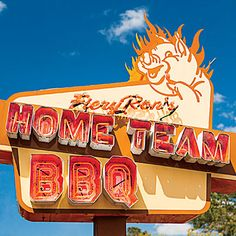 Fiery Rons Home Team BBQ, Charleston, SC | This reader-favorite BBQ joint is breaking all the old-school BBQ rules. | SouthernLiving.com