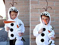 Strój karnawałowy Bałwanek Olaf costume DIY