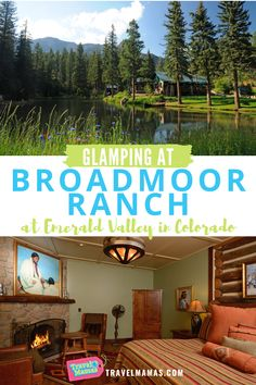 For the best glamping in Colorado, look no further than the Broadmoor Ranch at Emerald Valley! Located in Colorado Springs, this outdoorsy experience combines the best of nature with luxury service and sumptuous accommodations. Learn more in this review! #glamping #coloradosprings #colorado Adventure Activities, Camping Activities, Family Vacation Destinations, Cruise Vacation, Travel With Kids, Family Travel, Hotels For Kids, Luxury Glamping, Family Road Trips