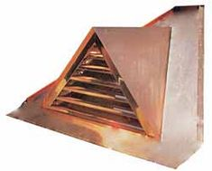 Door for Pyramid Dormer Roof, Attic Vents, Standing Seam Roof, Copper House, Copper Gutters, Copper Work, Chimney Cap, House Trim